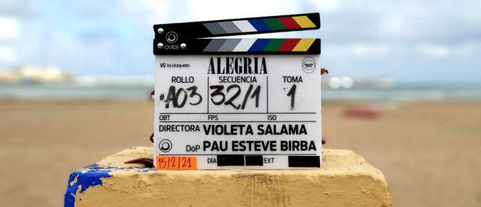 Rodaje de «Alegría» – Película de Violeta Salama